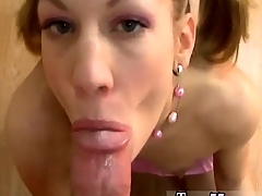 POV bj and facial
