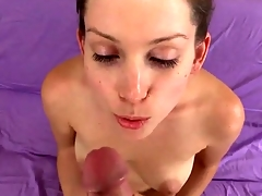 Lelu Love takes a facial with the addition of rubs it into her skin