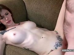Petite coed Indigo Augustine is acquiring her twat fucked