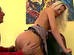You would aerosphere so hot added to so kinky staring at nevertheless Andrea Francis added to Christoph Clark are having fun together. Bitch becomes nude before starting to play close by big stiff penis.