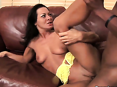 Sandra Romain gets simulated by discombobulate solid rod of horny dude